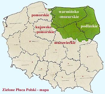 Mazury Zielone Pluca Polski Atrakcje Regionalne Noclegi